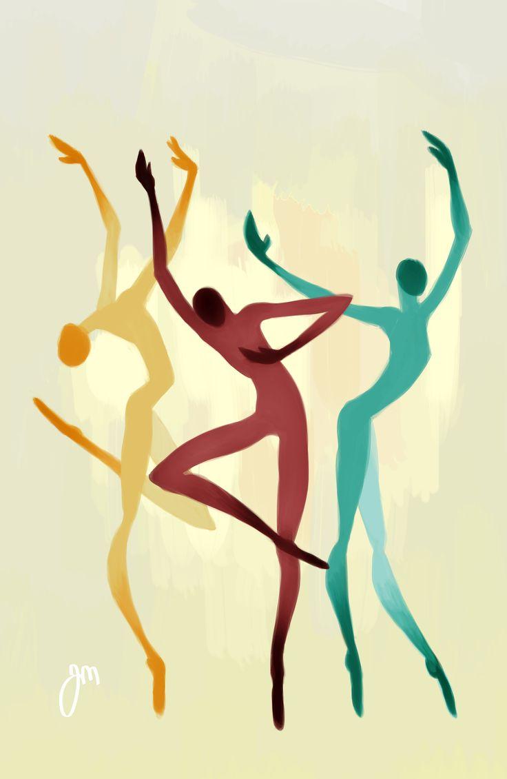 Dancers by Jenniina Martikainen