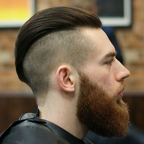 most popular haircuts 25 best undercut with beard ideas on faded 1551