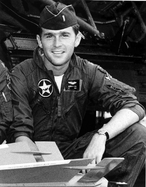 George W. Bush (born 1946), 43rd President of the United States (born in New Haven, CT, but raised in Texas)