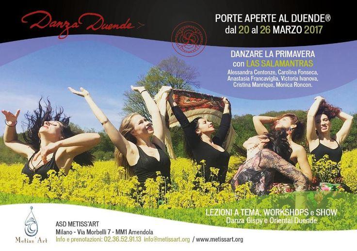 la #primavera è #danzaduende! info@spazioaries.it