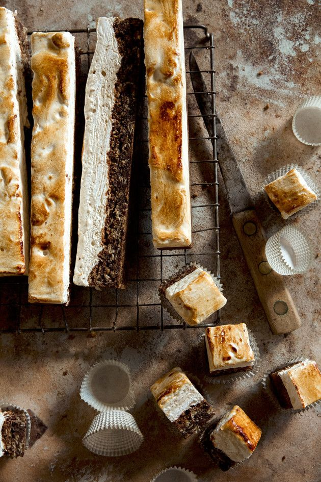 Oatmeal Chocolate Chip Cookie S'mores Bars Recipe