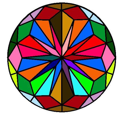 20 best images about mandalas on pinterest dibujo typography and eye tricks - Mandala facile ...