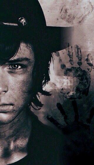 Carl Grimes - The John Connor of the zombie apocalypse.