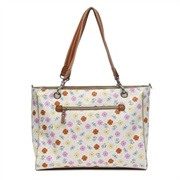 Show details for Pink Lining Bramley Tote Pansies