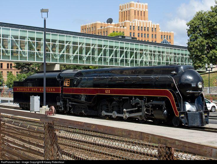 Photo N 611 Norfolk & Western Steam 48