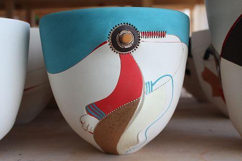Africasso Thabo Vase
