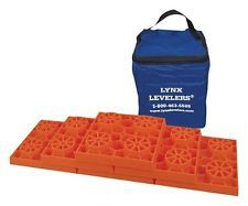 RV Accessories Leveling Blocks Lynx Levelers Jacks Stabilizer Modular Pack Of 10