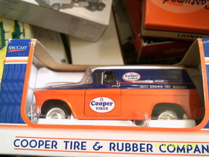 Contemporary Manufacture 2498: Cooper Tire 1957 Chevrolet Panel Van Spec Cast-1 25 Scale-Free Shipping -> BUY IT NOW ONLY: $35 on eBay!