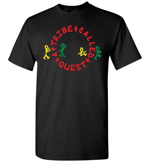 ATCQ A Tribe called Quest Classic Hip Hop New York City Low End Theory Phife Dawg Q-tip, v1a, Gildan Short-Sleeve T-Shirt