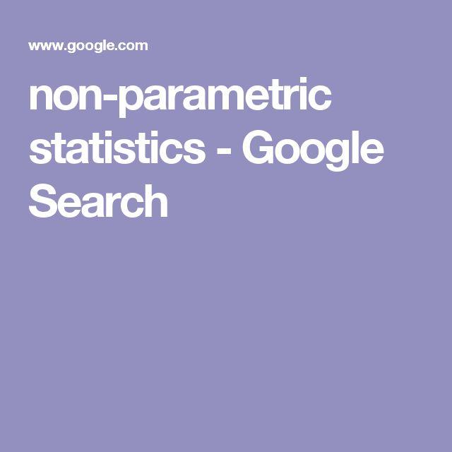 non-parametric statistics - Google Search