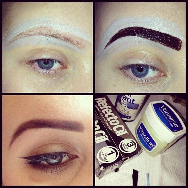 How to Dye Your Eyebrows at Home