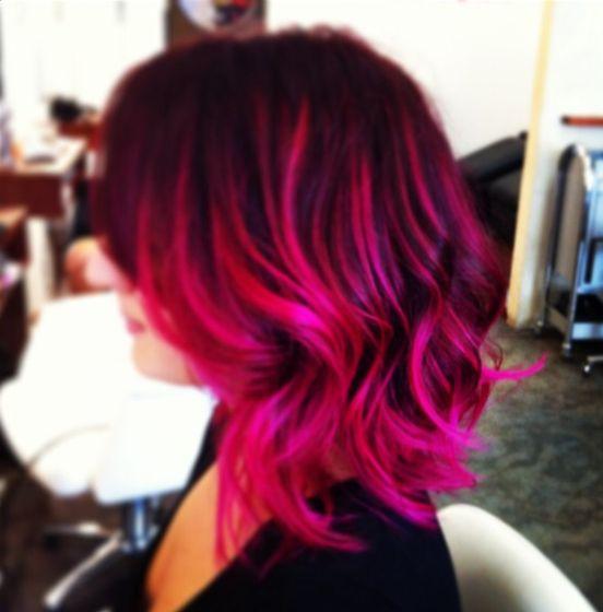 Pink beliage