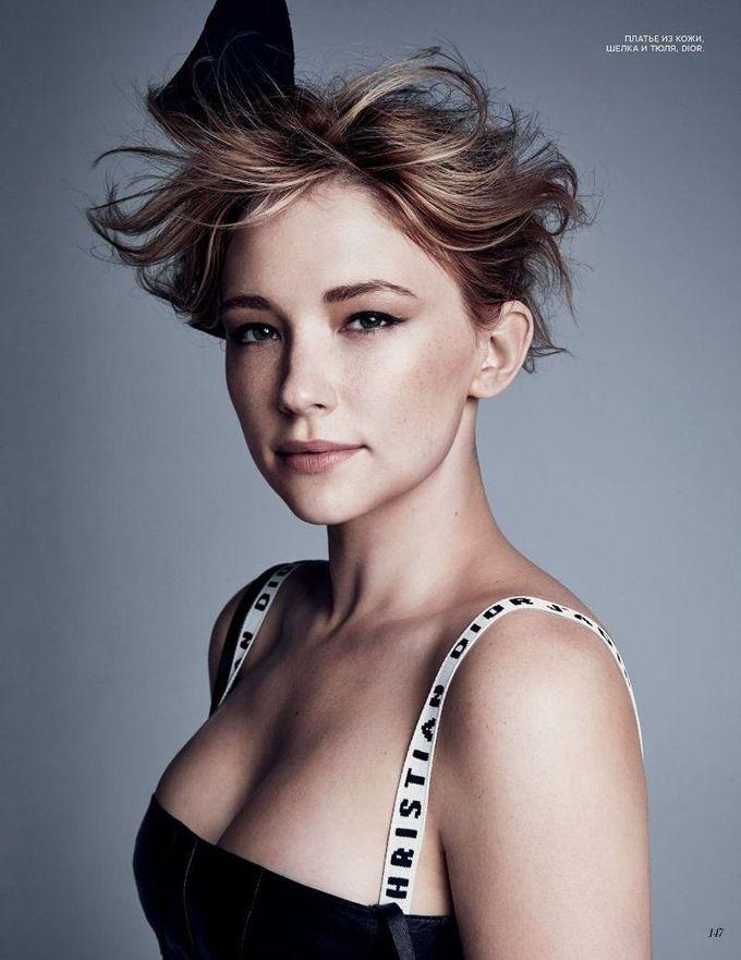 Хейли Беннетт на обложке Vogue Russia (Интернет-журнал ETODAY)