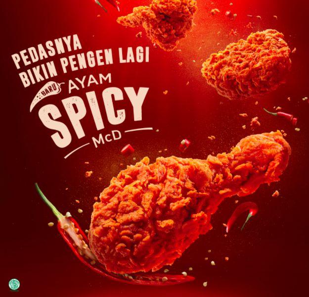 McD, Harga Ayam Spicy McD, harga ayam goreng spicy mcd
