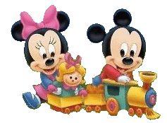 Baby Mickey & Minnie Train