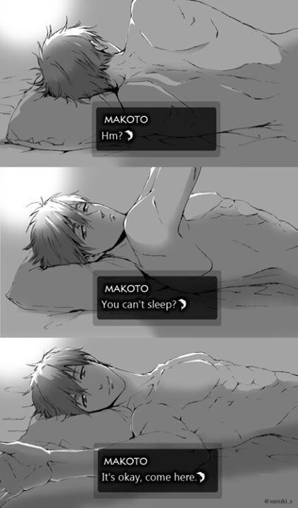 Makoto, la razon de ver FREE! Mas de una vez