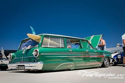 ford falcon wagon is beach ready