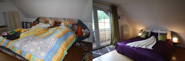 Schlafzimmer Vorher Nachher : Schlafzimmer vorhernachher