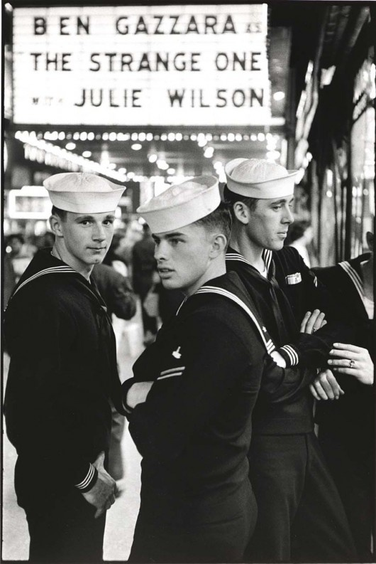 World War ll  US Navy sailors in NYC ~ this is what my husband was wearing when I first met him!