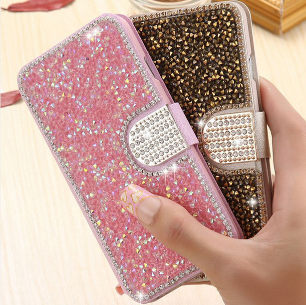 samsung galaxy s6 phone cases for girls. diamond flip cover bling crystal stand coque capa fundas for samsung galaxy s4 s5 s6 phone cases girls
