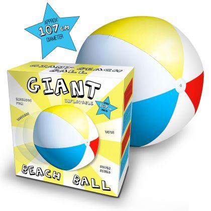 Ballon de Plage Géant : Achat Jeux Plein Air Original sur Rapid-Cadeau.com