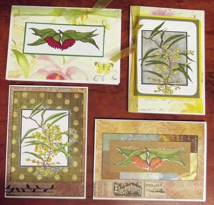 Australian Floral cards