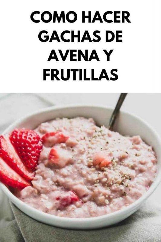 Como hacer gachas de avena y frutillas Oatmeal, Breakfast, Ideas Para, English, Food, Smoothie Recipes, Healthy Oatmeal Recipes, Savory Breakfast, Easy Food Recipes