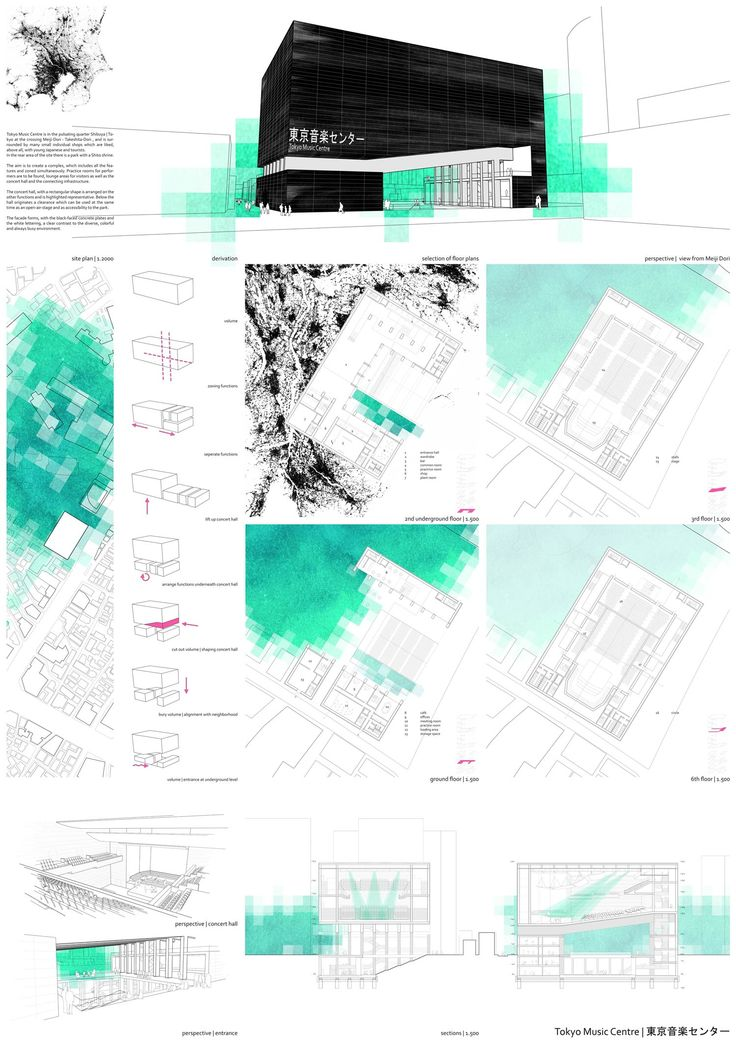 3 preis alexandra v lker layouts pinterest for Architektur layouts