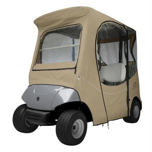 Classic - 40-056-335801-00 Fairway FadeSafe Yamaha Golf Cart Enclosure Khaki
