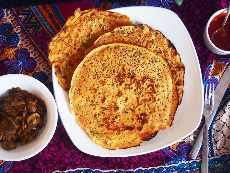indyjskie naleśniki, naleśniki bez jajek, naleśniki bez mleka, wegańskie naleśniki, dosa przepisy,