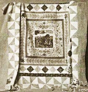 Quilt 1812: War & Piecing: Martha Washington's Penn's Treaty Quilt