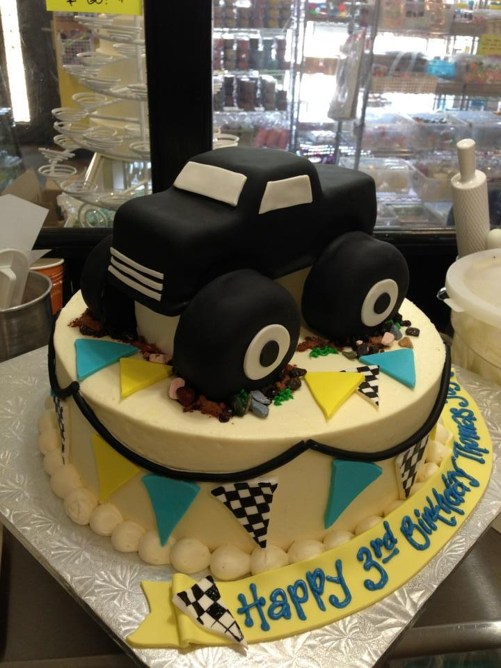 Monster truck cake, Sugarnomics Cake Studio Guam