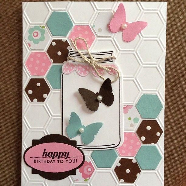 Hexagon card kit