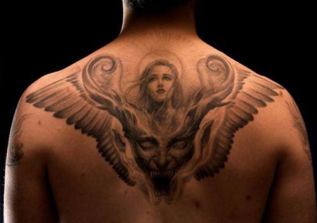 17 Best Images About Good Vs Evil On Pinterest: 17 Best Ideas About Evil Tattoos On Pinterest