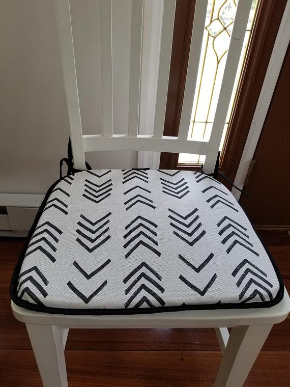 Flat Chair Pad Seat Cushion African Mudcloth Inspired Print , Barstool  Cushion | Pillows U0026 Seat Cushions | Pinterest | Seat Cushions, Chair Pads  And Bar ...