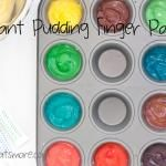 Your Toddler Will Love This Edible Finger Paint   Make and Takes