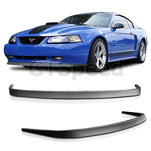 1999-2004 Ford Mustang GT V6 V8 USDM OE Style Front Bumper Lip - PU - http://www.caraccessoriesonlinemarket.com/1999-2004-ford-mustang-gt-v6-v8-usdm-oe-style-front-bumper-lip-pu/  #19992004, #Bumper, #Ford, #Front, #Mustang, #Style, #USDM #Enthusiast-Merchandise, #Mustang