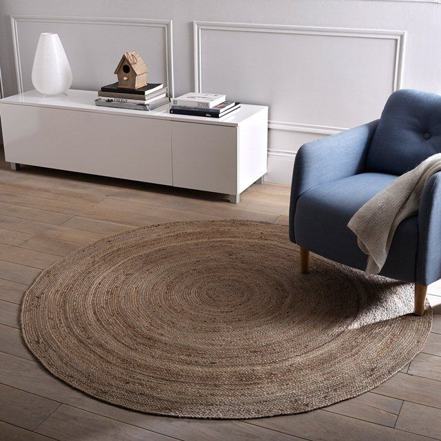 Jute Rug, Diameter 160 cm, Natural Colour, Aftas La Redoute Interieurs : price, reviews and rating, delivery. Aftas jute rug. Go for the jute trend with this 100% natural large diameter Aftas rug.Aftas jute rug: Discover the complete collection of Aftas rugs. Size of Aftas jute rug: Diameter: 160 cm 100% genuine jute, 2000 g/m².