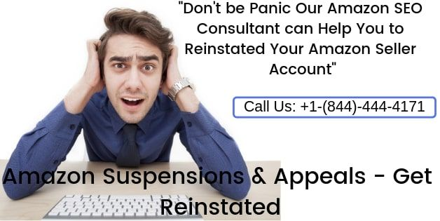 If your Amazon Account Suspended We can help to get it back for