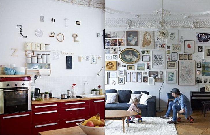 Oltre 25 fantastiche idee su decorare una parete su for Foto case arredate moderne