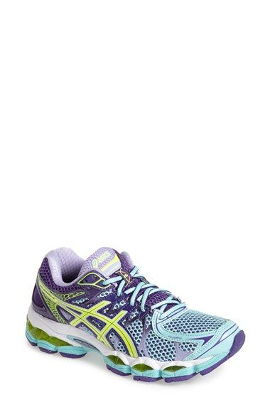 Free shipping and returns on ASICS® 'GEL-Nimbus 16' Running Shoe (Women) at Nordstrom.com. A FluidFit upper refines a neutral running shoe that adapts to the foot for a one-of-a-kind, glovelike fit. Linked components in the updated Guidance Trusstic System® ensure a more efficient stride, while the superior bounce and cushioning of a FluidRide midsole provide plush, stable steps.