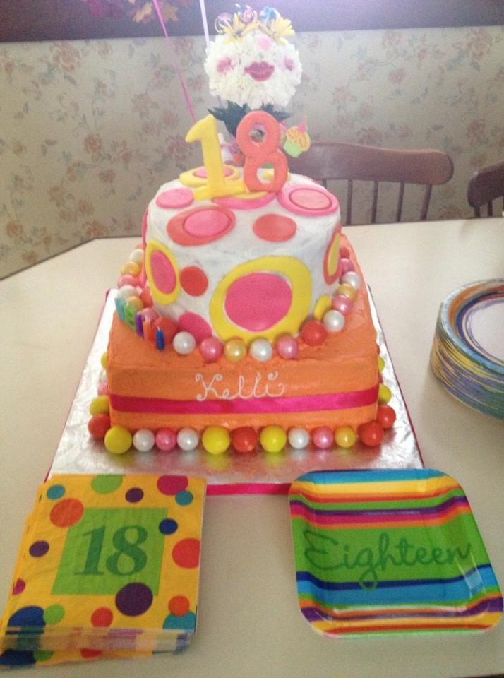 Sheet Cake Designs For 18th Birthday : 1000+ images about Great Cakes that I ve Made on Pinterest ...