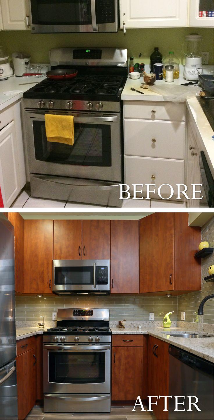 190 best Kitchen Transformations images on Pinterest   Kitchen ...