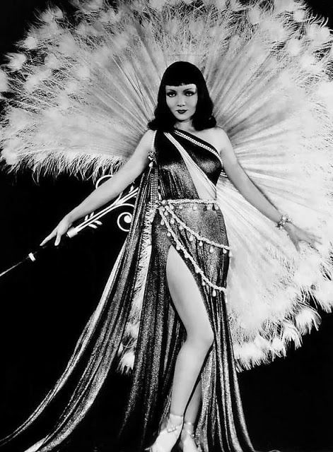 """Claudette Colbert in """"Cleopatra"""", 1934 Uploaded By  www.1stand2ndtimearound.etsy.com"""