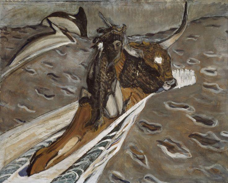 "Version of ""The rape of Europa"" by Valentin Serov, 1910"