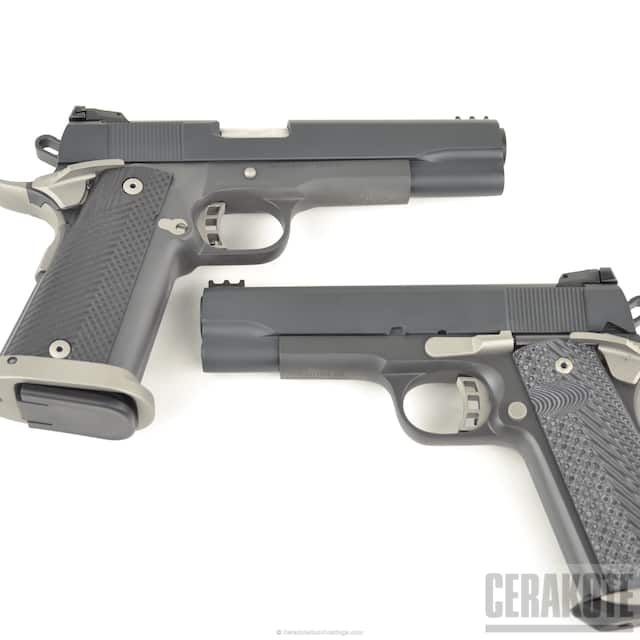 Rock Island Armory, 1911, Titanium H-170Q, 10mm, Pistols, Smoke E-120Q, Midnight E-110Q, Cerakote Elite Series