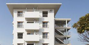 UR都市機構 花畑団地 団地再生プロジェクト ドキュメント27号棟 目で見る27号棟リノヴェーション