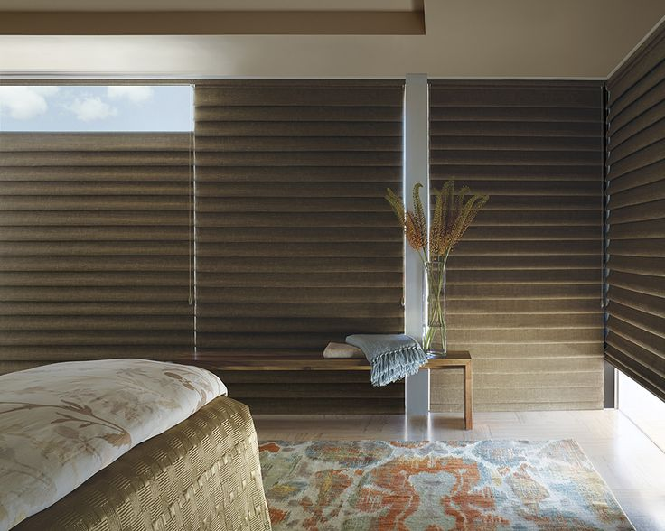 39 best images about hunter douglas vignette modern roman for Modern blinds for windows