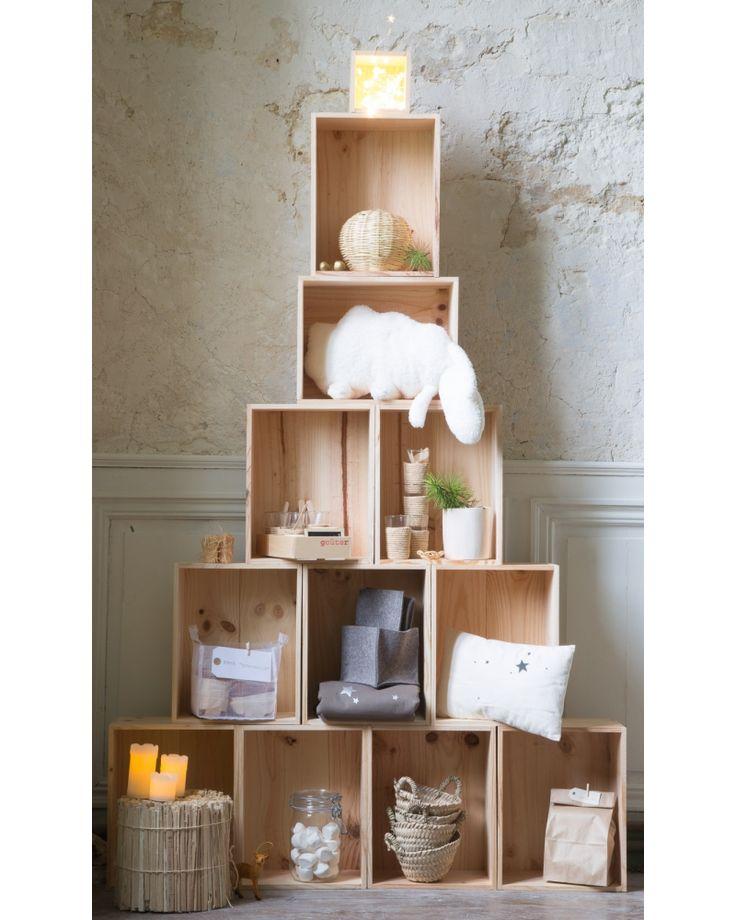 Bibliothèques composées avec des cubes