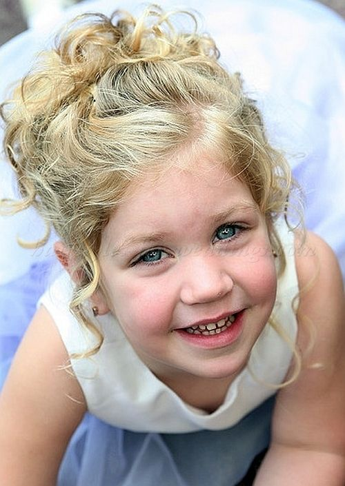 Brilliant 1000 Images About Flower Girl Hairstyles On Pinterest Flower Hairstyles For Women Draintrainus